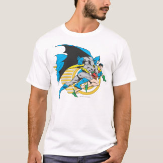 Camiseta Batman y perfil del petirrojo