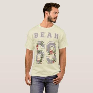 Camiseta bear 6 9 flores morado