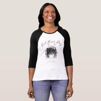 Camiseta Beautician del salón de la jerarquía del mún del