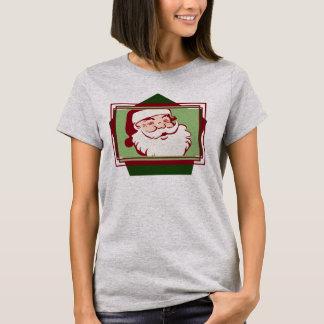 Camiseta Bebé de Santa