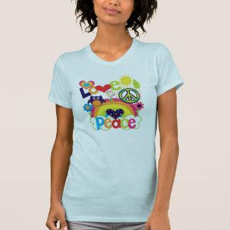 Camiseta Bebé del amor y de la paz