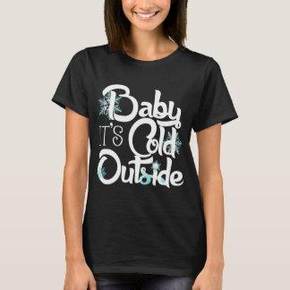 Camiseta Bebé es día de fiesta de moda del exterior frío
