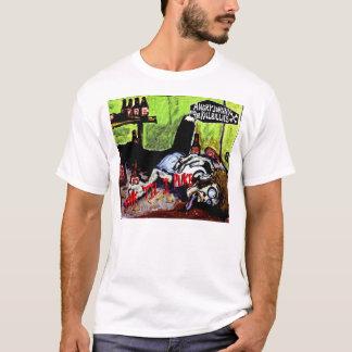 "Camiseta ""Bebida 'de Johnny enojado hasta que Puke """