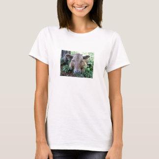 Camiseta Becerro 1, muñeca de las señoras (cabida)