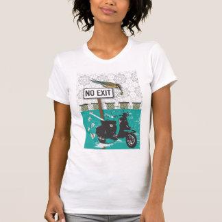 Camiseta bee, no exit!