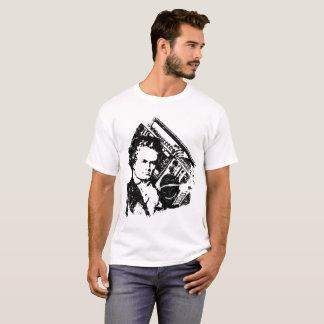 Camiseta Beethoven hip-hop ghettoblaster old school