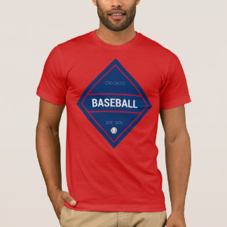Camiseta Béisbol 1876 de Chicago