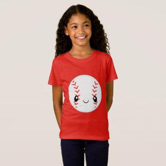 Camiseta Béisbol de Emoji
