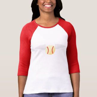 Camiseta Béisbol del ángel