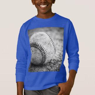 Camiseta Béisbol en blanco y negro