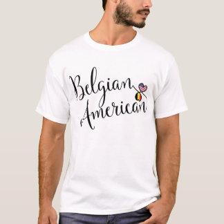 Camiseta belga de los corazones de Entwinted del