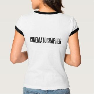 Camiseta Bella de CinematographerWomen+Campanero de la