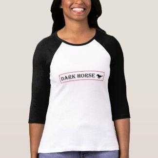 Camiseta Bella de las mujeres+Camiseta del raglán de la