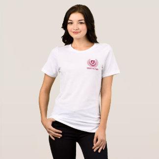 Camiseta Bella de las mujeres oficiales del CIC+Ajuste
