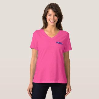Camiseta Bella de las mujeres sabias+Cuello en v T del