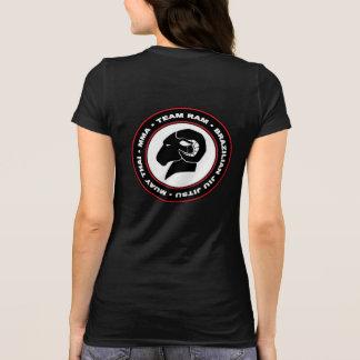 Camiseta Bella de las señoras+Camiseta negra de RAM de la