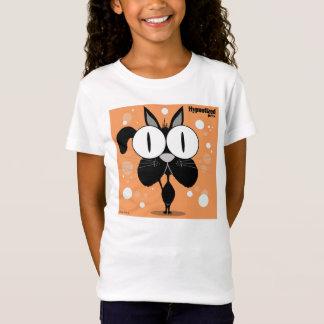 Camiseta Bella de los chicas del gato negro cupo la