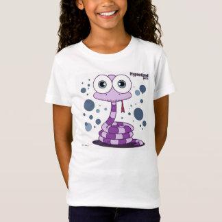 Camiseta Bella de los chicas púrpuras de la serpiente cupo
