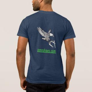 Camiseta Bella de los hombres+Bolsillo T de las herraduras