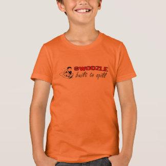 Camiseta Bella de los niños de Swoozle Pogue+Camiseta del