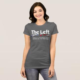 Camiseta Bella+Jersey T - la izquierda de Fave de la lona,