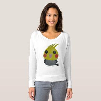 Camiseta belleza del オカメインコオウム, el cockatiel, diseño