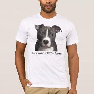 Camiseta belleza, soy un amante, NO un combatiente