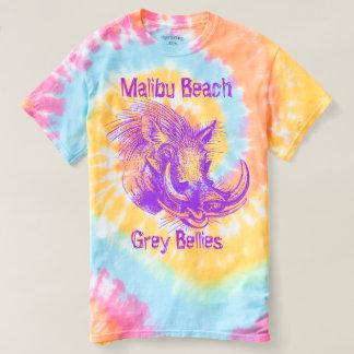 Camiseta Belly del gris de la playa de Malibu