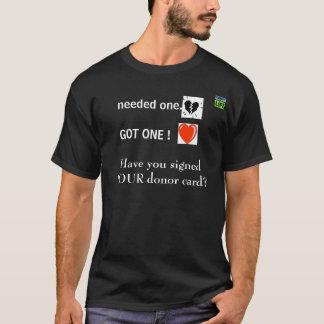 Camiseta Beneficiario del trasplante de corazón II