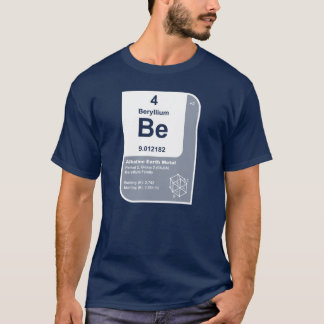 Camiseta Berilio (Be)