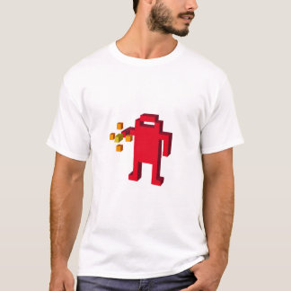 Camiseta berzerk-robot-shooting