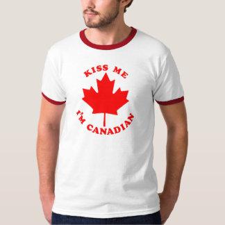 Camiseta Béseme el canadiense Im