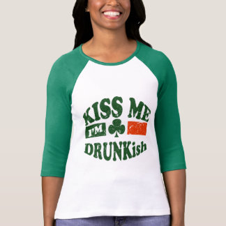Camiseta Béseme Im Drunkish