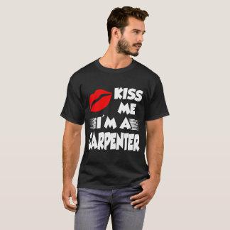 Camiseta béseme que soy carpintero