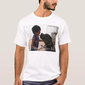 Camiseta Beso del amor de Pitbull