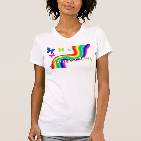 Camiseta besos de la mariposa
