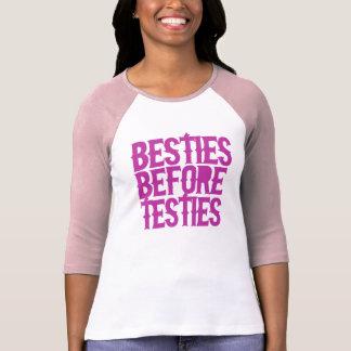 Camiseta Besties antes de Testies