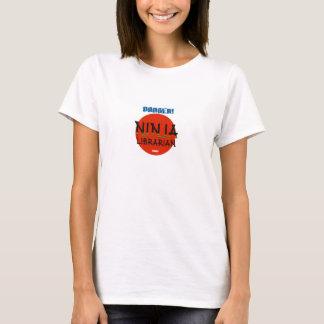 Camiseta Bibliotecario de Ninja