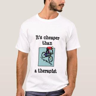 Camiseta bici, es un terapeuta más barato del thana