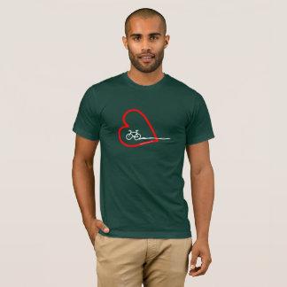 Camiseta Bici y corazón