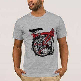 Camiseta Bicicleta de Brompton doblada
