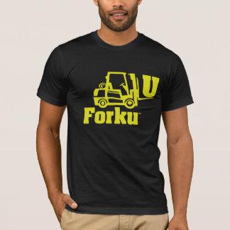 Camiseta bifurcación U