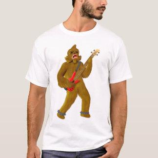 Camiseta Bigfoot que juega el bajo