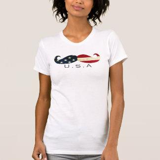 Camiseta Bigote americano