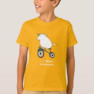 Camiseta Bijorn las bicis rechonchas del amor del unicornio