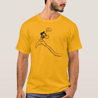 """Camiseta Biking de la montaña de los hombres el """"es una"""