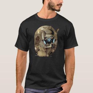 Camiseta Biohazard de hadas gótico del Cyberpunk de la