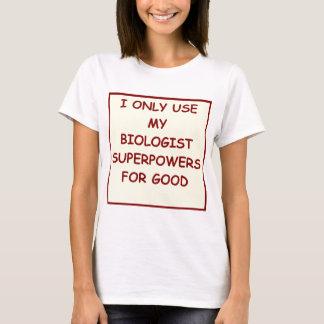 Camiseta biología