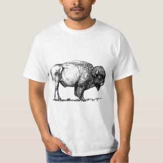 Camiseta Bisonte americano del búfalo