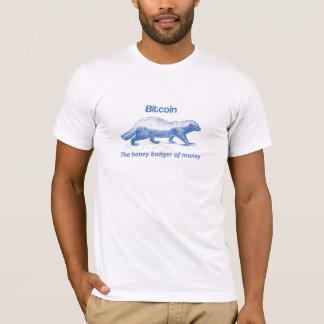 Camiseta Bitcoin - el tejón de miel del dinero